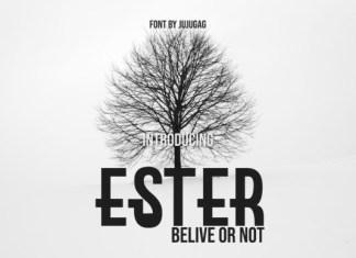 Ester Font
