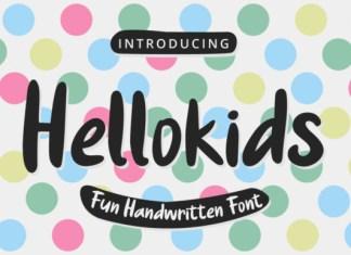 Hellokids Font