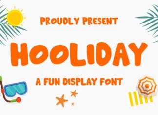 Hooliday Font