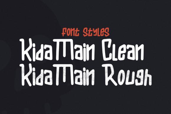 Kida Main Font