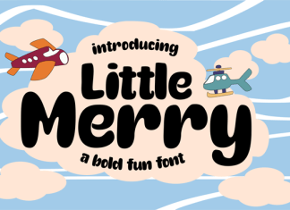 Little Merry Font