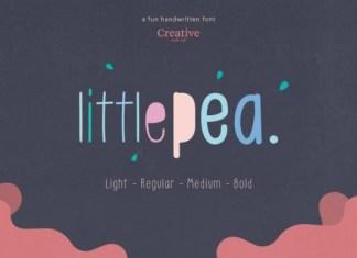 Little Pea Font