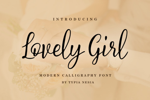 Lovely Girl Font