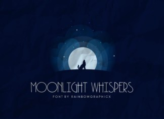Moonlight Whispers Font