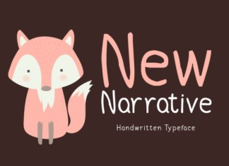 New Narrative Font