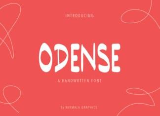 Odense Font