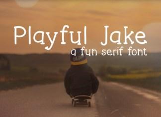 Playful Jake Font