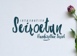 Seiroetan Font