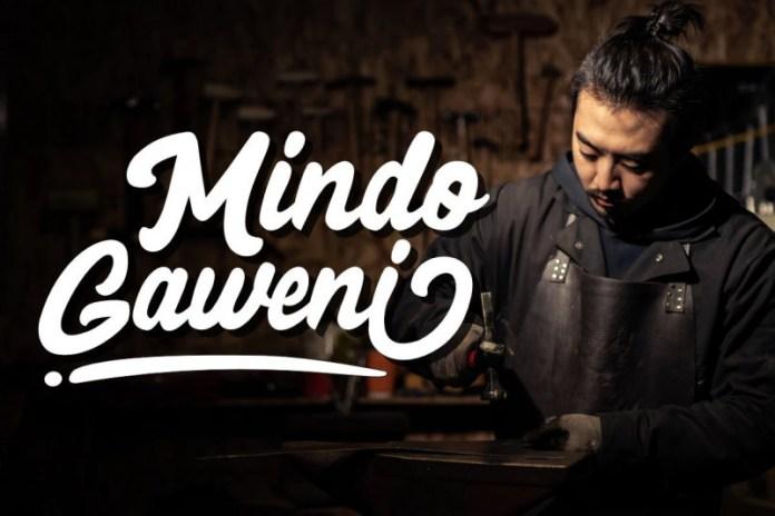 Black Mindo Font