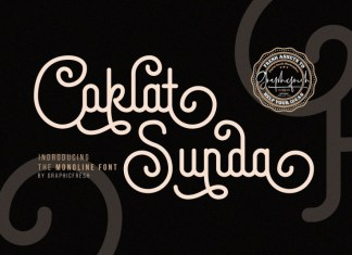Coklat Sunda Font