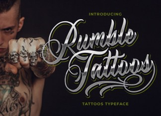 Rumble Tattoos Font