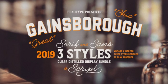 Gainsborough Font