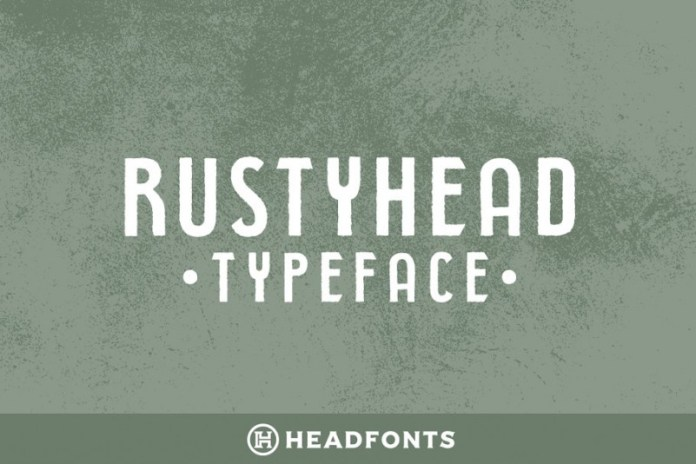 Rustyhead Font