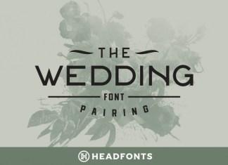 Wedding Font Pairing