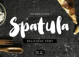 Spatula Font