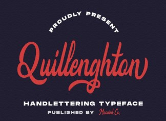 Quillenghton Font