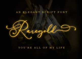 Raregold Font