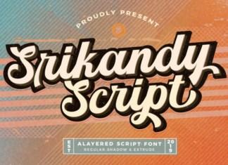 Srikandy Font