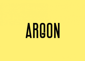 ARGON Display Headline Font