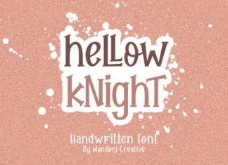 Hellow Knight Font