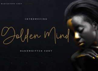 Golden Mind Font