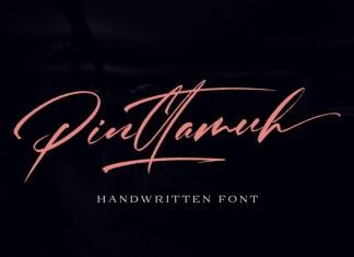 Pinttamuh Font