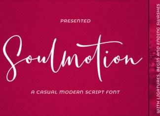 Soulmotion Font