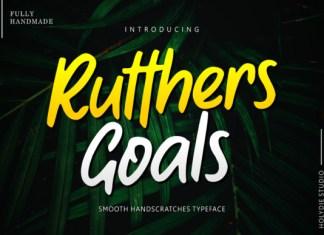 Rutthers Goals Font