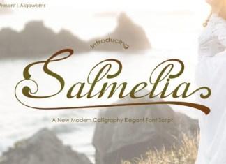 Salmelia Font