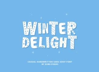 Winter Delight Font