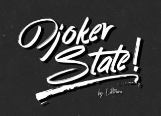Djoker State Font