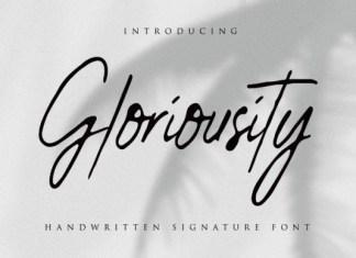 Gloriousity Font
