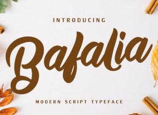 Bafalia Font
