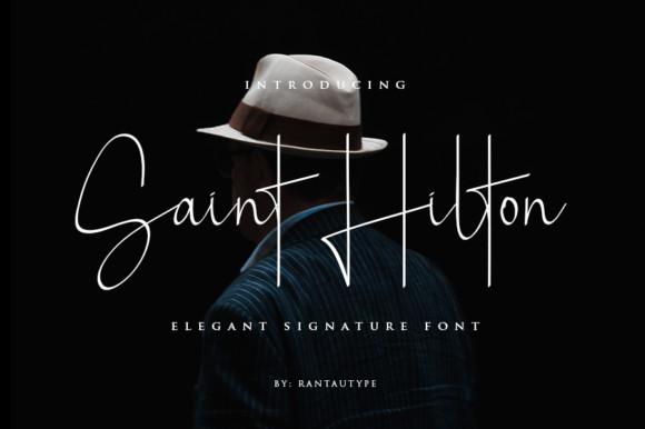 Saint Hilton Font