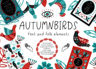 Autumnbirds Font