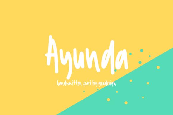 Ayunda Font