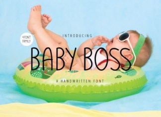 Baby Boss Font