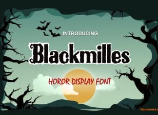Blackmilles Font
