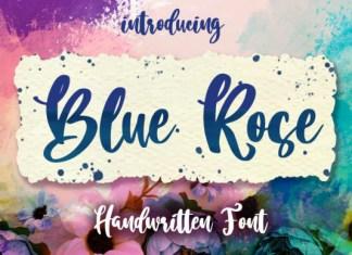 Blue Rose Font