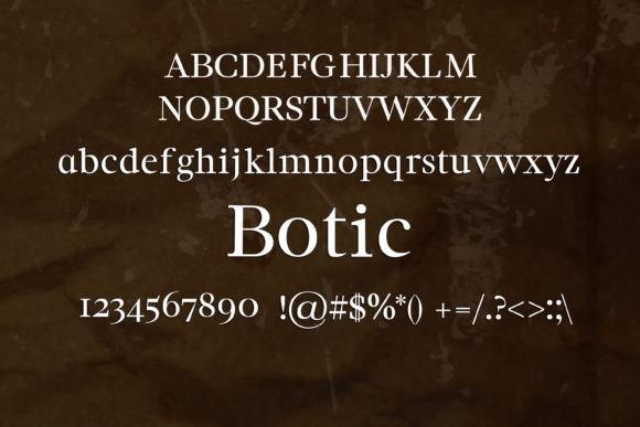 Botic Font