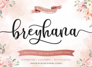 Breyhana Font