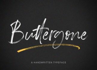 Buttergone Font