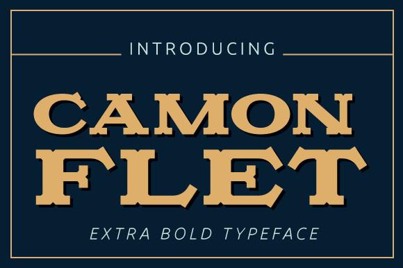 Camonflet Font
