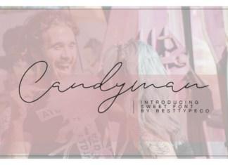Candyman Font