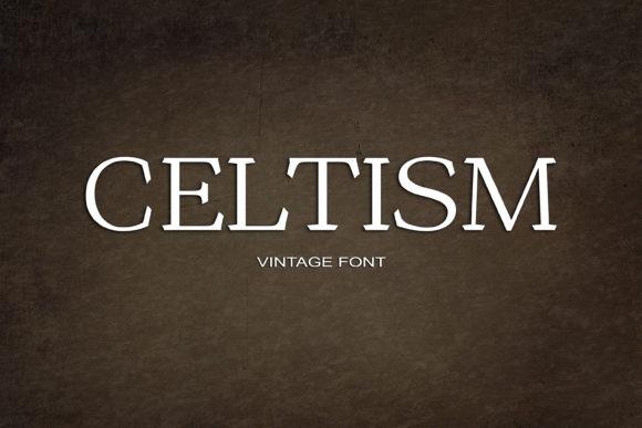 Celtism Font