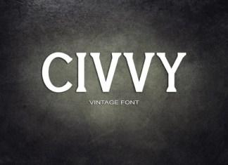 Civvy Font