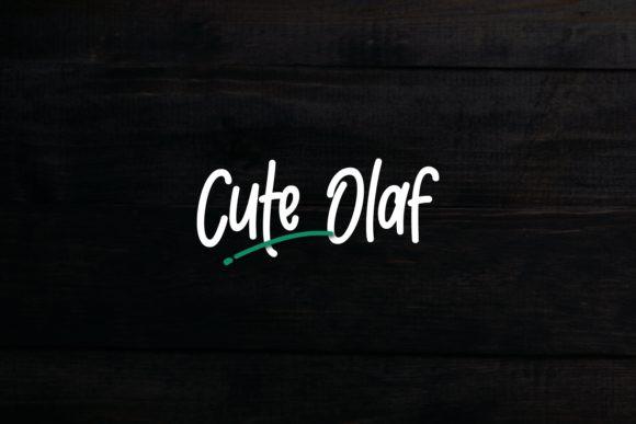 Cute Olaf Font