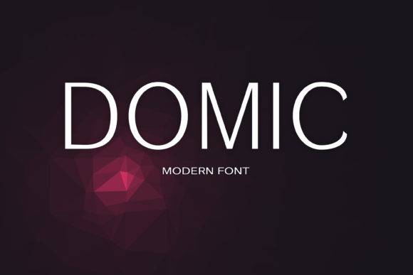 Domic Font