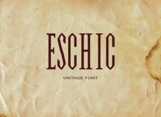 Eschic Font