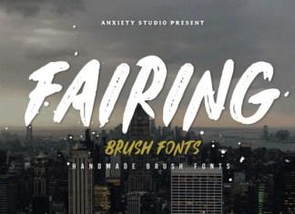 Fairing Font